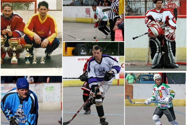 Zľava Dušan Masnica, Peter Masnica, Milan Kubiatko, Pavol Slovák, Alexander Stančík, Rudolf Kučák aj František Ujházi vedia, čo znamená vyhrať KHL.