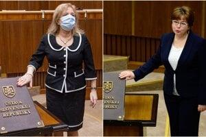 Magdaléna Sulanová a Natália Grausová.