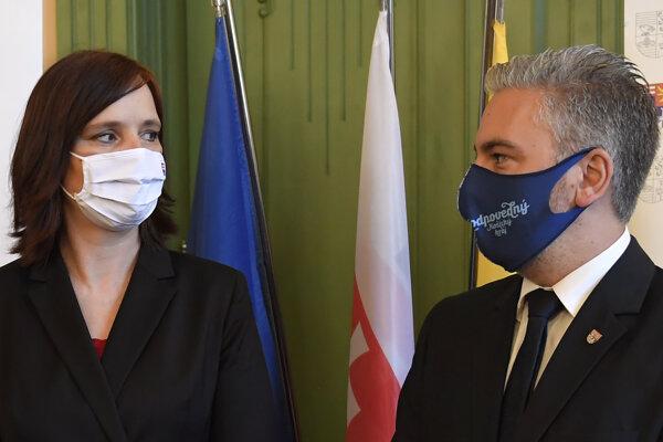 Veronika Remišová a Rastislav Trnka sa stretli v Košiciach.