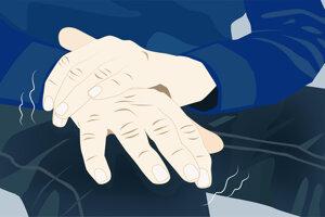 Medzi úvodné prejavy Parkinsonovej choroby patrí silný tras rúk.