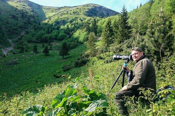 Poľovník, no najmä milovník prírody, Stanislav Brisuda.