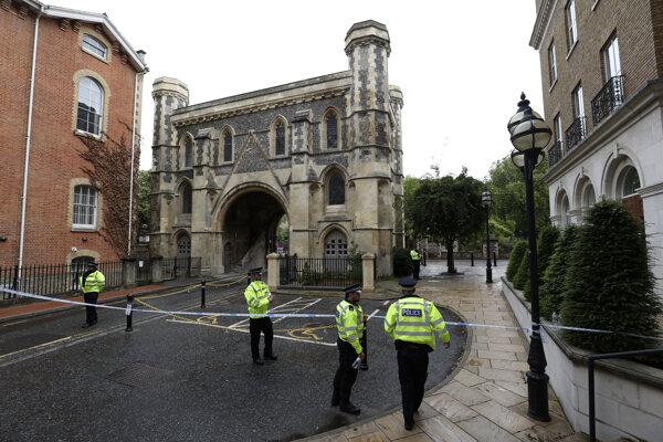 Polícia v Readingu.