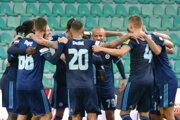Futbalisti ŠK Slovan Bratislava získali majstrovský titul.