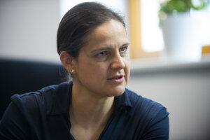Ministerka spravodlivosti Mária Kolíková (Za ľudí).