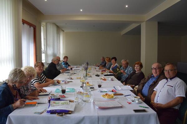 Zasadnutie členov KR JDS.