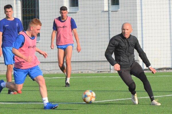 Miroslav Barčík si na tréningu nič neodpustí.