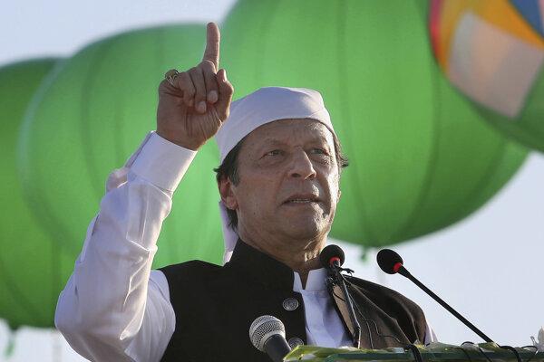 Pakistanský premiér Imran Chán.