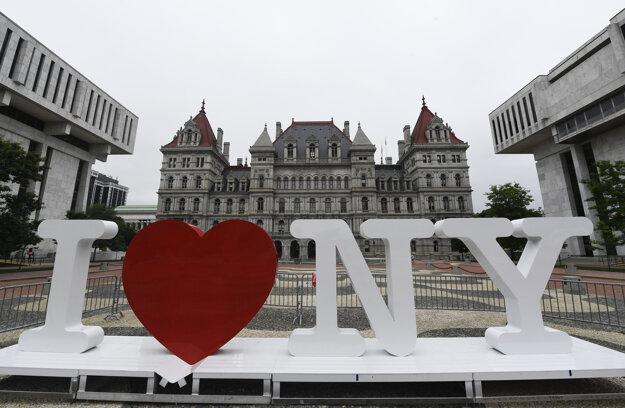 Slávne logo I Love NY, ktoré vytvoril Milton Glaser.