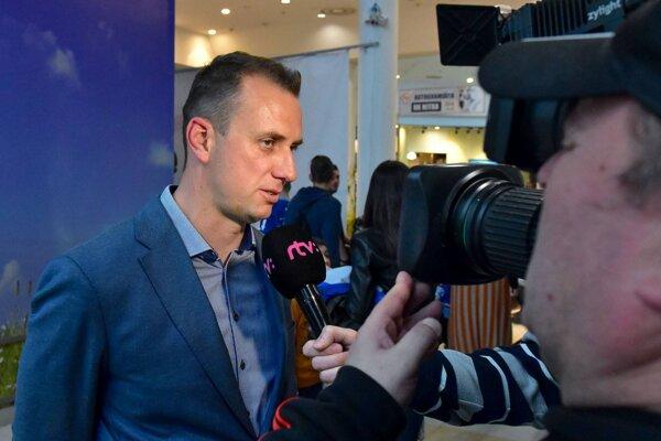 Riaditeľ HK Nitra Miroslav Kováčik.