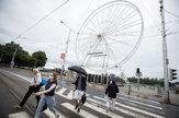 V Bratislave vyrástlo vyhliadkové kolo