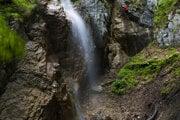 Závojový vodopád.