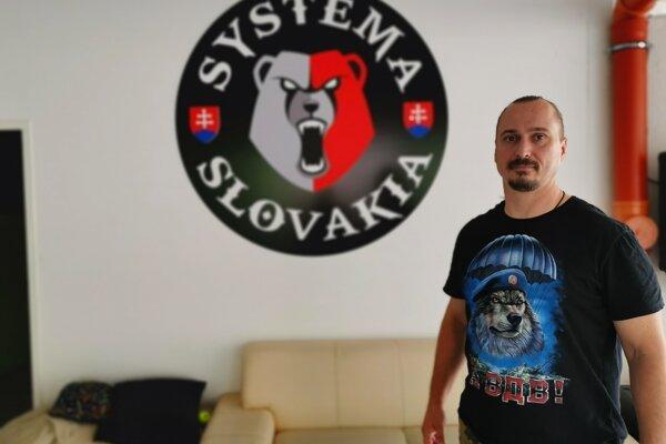 Slavomír Meško, hlavný tréner ruského bojového umenia Systema na Slovensku
