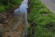 Potok v mestskej časti Prejta.