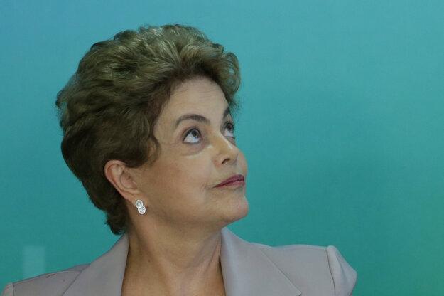 Dilma Rousseffová.