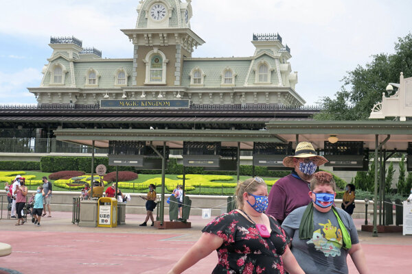 Florida otvorila Disneyho park.