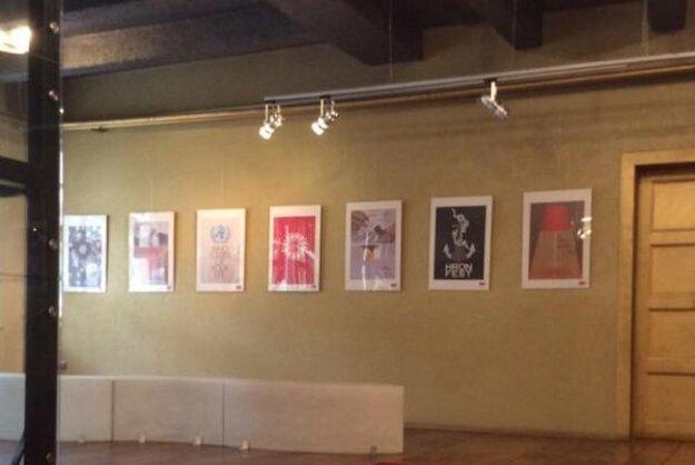 Výstava prác Cirkulátora 2016 v Galérii Foyer v Starom divadle.