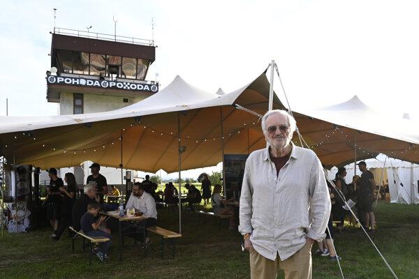 Milan Lasica otvoril vystúpením s Dorotou Nvotovou online verziu festivalu Pohoda in the Air.