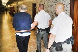 Vladimír na súde, stále je stíhaný vo väzbe.