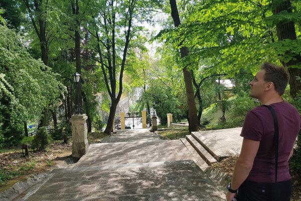 Botanická záhrada v Banskej Štiavnici.