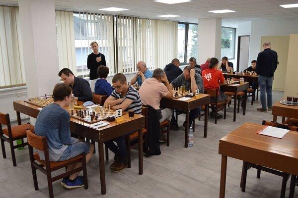 Zápas 1. slovenskej šachovej ligy.