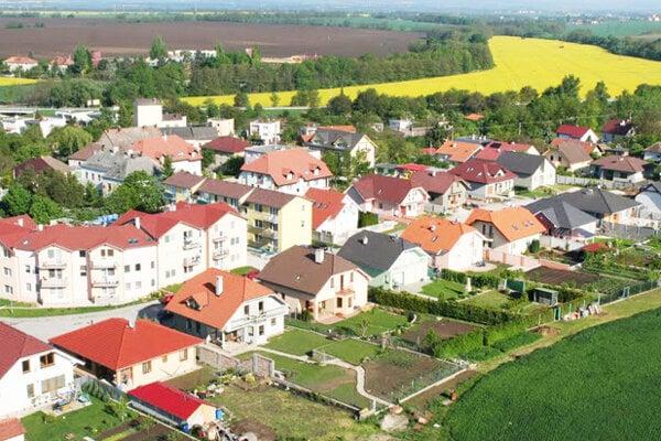 Obec Bučany.