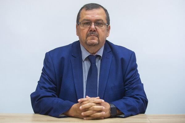 Nový riaditeľ SVP Róbert Hok.
