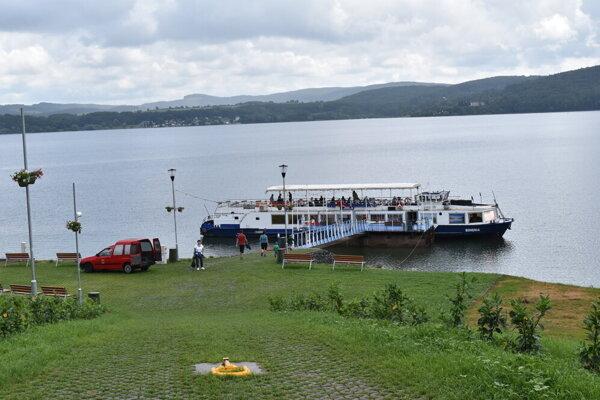 Výletná loď Bohemia.