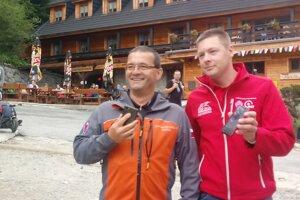 Jozef Janiga (vľavo) a Filip Maleňák.
