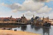 Johannes Vermeer: Pohľad na Delft (1659)