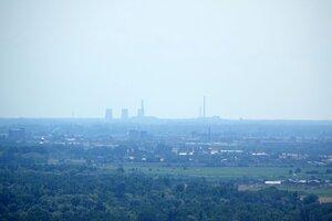 Pohľad na Elektrárne Vojany.