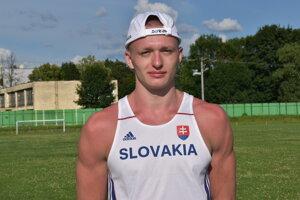 Tomáš Matuščák je nádejný šprintérsky talent.