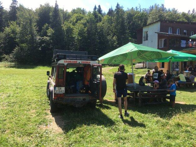 V Slovenskom raji pomáhali turistke.