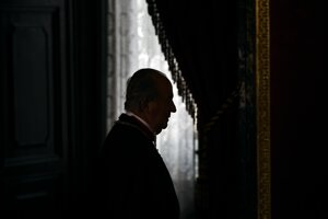 Emeritný španielsky kráľ Juan Carlos.