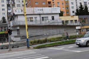 Nová rampa na prešovskom Sídlisku Šváby už stojí.