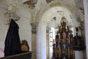 Čierna pani v kaplnke Kežmarského hradu.