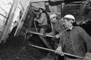 Razenie tunela pod Braniskom v roku 1996