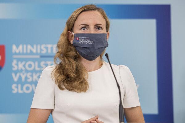Štátna tajomníčka ministerstva školstva, vedy, výskumu a športu Monika Filipová.