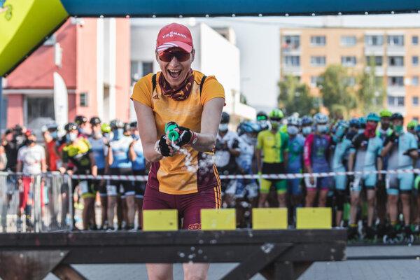 Rajecký maratón mal tento rok vzácneho hosťa - trojnásobnú olympijskú víťazku Anastasiu Kuzminovú.