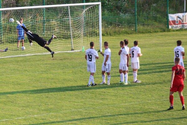 Strapek strieľa doposiaľ jediný gól Zvolena v prebiehajúcej sezóne v zápase proti Námestovu.