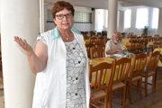 Daniela Želinská hovorí, že pravdepodobne budú musieť zredukovať jedálne, lebo študentov stále ubúda.