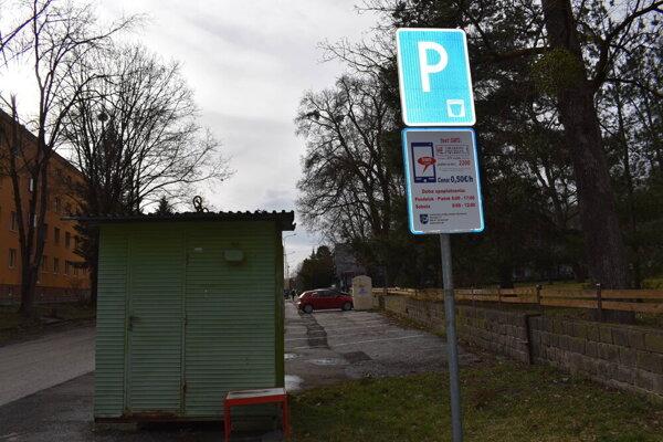 Parkovanie v Humennom.