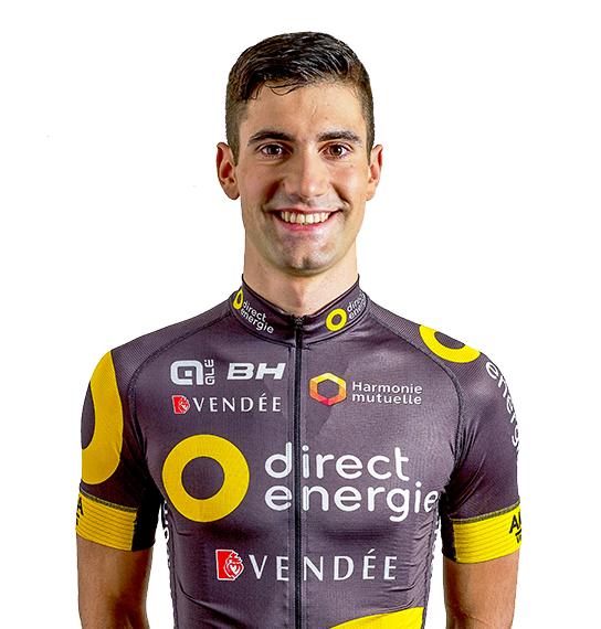 Fabien Grellier, cyklista, tím Team Total Direct Energie