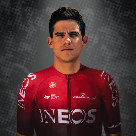 Andrey Amador, cyklista, tím The Ineos Grenadiers