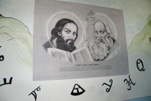 K Nitre patria aj vierozvestcovia svätý Cyril a Metod.