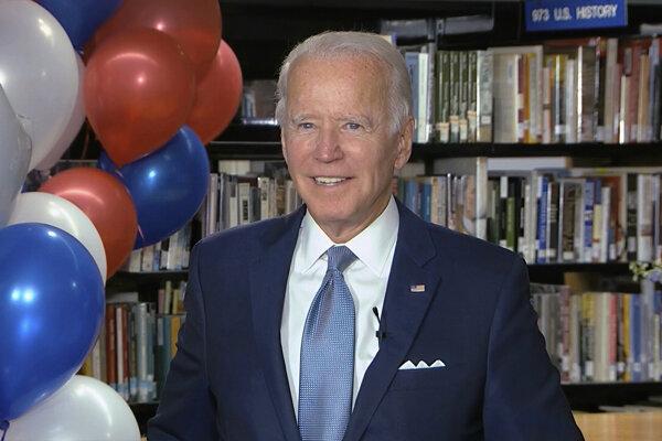 Joe Biden v novembrových voľbách vyzve Trumpa.