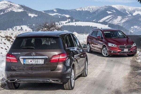 Obe testované autá ponúkajú podstatne vyšší úžitok ako Mercedes A alebo BMW Radu 1.