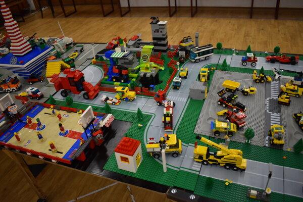 Legové modely.