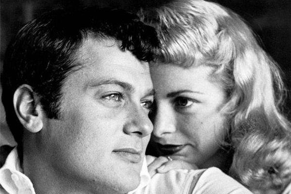 Tony Curtis a jeho manželka Janet Leigh. Prvá, z celkovo šiestich.