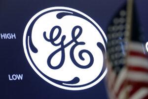 Logo amerického priemyselného konglomerátu General Electric.