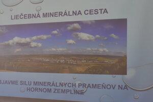 Prezentácia plánov OÚ Stropkov na liečebnú minierálnu cestu.